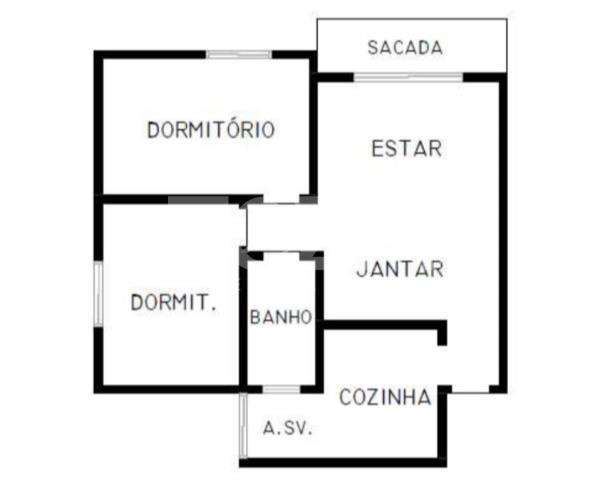 Foto de APTO. RES. A. Ú. 56,79M² + 1 VAGA - JANDIRA/SP